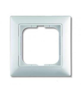 Рамка одинарная ABB Basic 55 альпийский белый 1725-0-1479