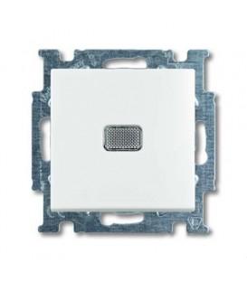 Переключатель одноклавишный с подсветкой ABB Basic 55