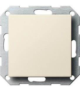 Заглушка с опорной пластиной Gira 26801 System 55 Кремовый