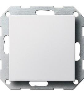 Заглушка с опорной пластиной Gira 26827 System 55 Белый матовый