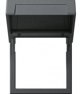 Монтажная рамка с откидной крышкой Gira 265828 Антрацит