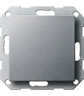 Заглушка с опорной пластиной Gira 26826 System 55 Алюминий