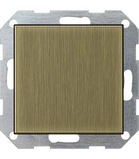 Заглушка с опорной пластиной Gira 268603 System 55 Бронза