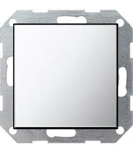 Заглушка с опорной пластиной Gira 268605 System 55 Хром