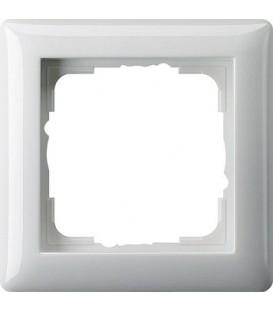 Рамка 1 место Gira 21103 Standart 55 Белый глянцевый