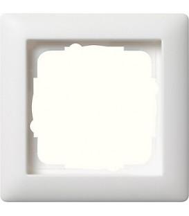 Рамка 1 место Gira 21104 Standart 55 Белый матовый