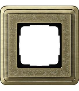 Рамка 1 место Gira 211661 ClassiX Art Бронза