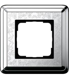 Рамка 1 место Gira 211681 ClassiX Art Хром