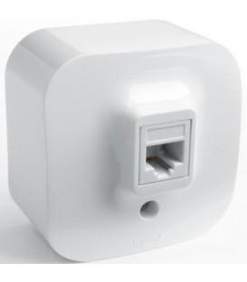 Розетка для компьютерных сетей Legrand Quteo (Белый)