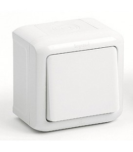 Кнопка IP-44 Legrand Quteo (Белый)