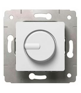 Светорегулятор поворотный, 300Вт, 230В, белый, Cariva
