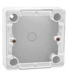 Коробка для накладного монтажа, глубина 41мм, белая, Cariva