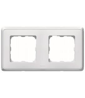 Рамка Cariva 2-я Белая