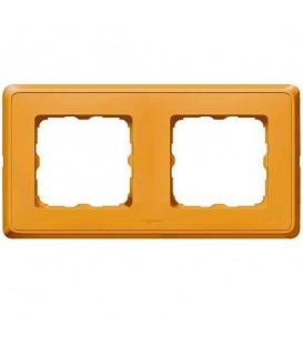 Рамка Cariva 2-я Матовое золото