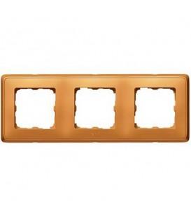 Рамка Cariva 3-я Матовое золото