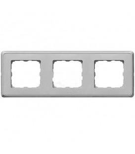 Рамка Cariva 3-я Алюминиевая