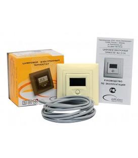 Термостат электронный програмируемый NLC-527H (беж.)