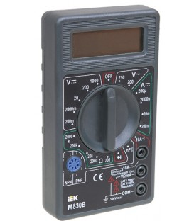 Мультиметр цифровой Universal M832 IEK