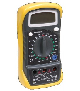 Мультиметр цифровой Master MAS838L IEK