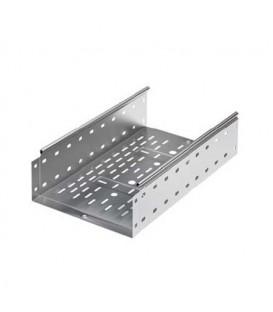 DKC Лоток оцинкованная сталь перфорированный 400x100мм (1шт.-3м)