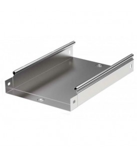 DKC Лоток оцинкованная сталь неперфорированный 100x100мм (1шт.-3м) (35101)