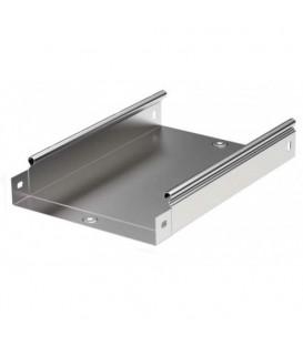 DKC Лоток оцинкованная сталь неперфорированный 100х100мм (1шт.-2м) (35111)