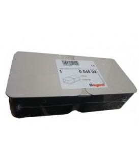 Монтажная коробка под заливку для лючков Legrand 6 (2х3) модулей металлическая