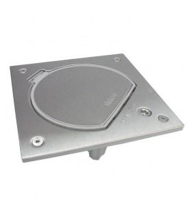 Влагостойкая основа IP66 с замком на 1 модуль K45, сталь