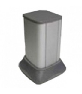 Миниколонна алюминиевая, 0.25м, цвет серый металлик DKC