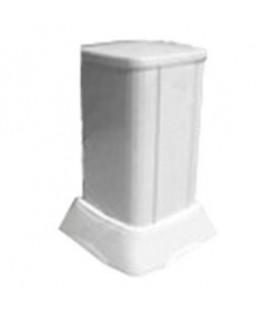 Миниколонна алюминиевая, 0.25м, цвет белый DKC