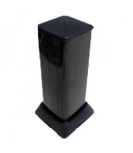 Миниколонна алюминиевая, 0.35м, цвет чёрный DKC