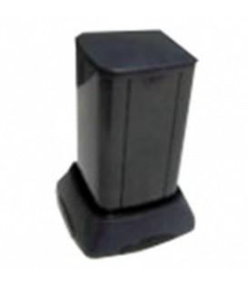 Миниколонна алюминиевая, 0.25м, цвет чёрный DKC
