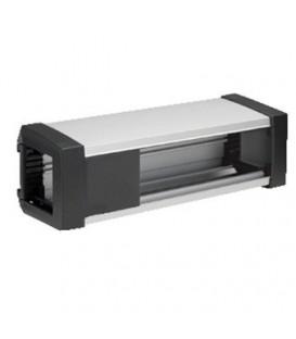 Настольный розеточный блок Simon Ofiblock Plus на 8 механизмов графит