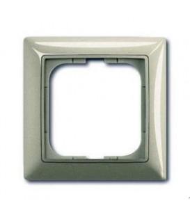 Рамка одинарная ABB Basic 55, цвет шампань