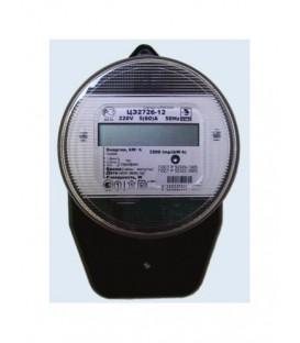 Счетчик электроэнергии однофазный многотарифный ЦЭ2726-12 60/5 Т4 Щ 220В ЖК круглый (ЦЭ2726-12 Т4 5-60)