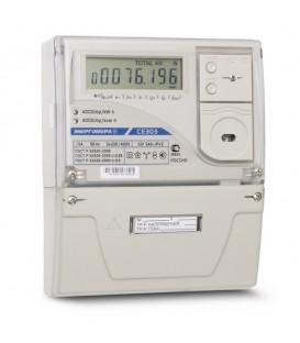 Счетчик электроэнергии трехфазный многотарифный CE 303 S31 745 JGVZ 60/5 Т4 Щ ЖК кл1/1 230B GSM-модем оптопорт