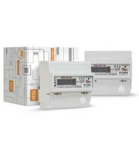 Счетчик электроэнергии трехфазный однотарифный Нева306 100/5 Т1 D 220/380В ЖК
