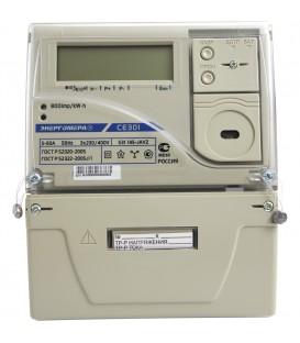 Счетчик электроэнергии трехфазный многотарифный CE 301 S31 100/5 Т4 Щ ЖК 230/380В RS485 контроль вскрытия крышки оптопорт