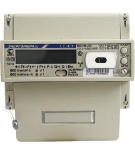 Счетчик электроэнергии трехфазный многотарифный CE 303 R33 60/5 Т4 D+Щ RS485 230/380В ЖК (CE303 R33 745 JAZ)