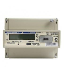 Счетчик электроэнергии трехфазный однотарифный СE 300 R31 100/5 Т1 D 230/400В ЖК (CE300 R31 146-J)