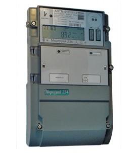 Счетчик электроэнергии трехфазный многотарифный Меркурий 234 ARTM-01 POB.L2 5/60А кл1/2 230/400В ЖКИ RS485 оптопорт PLCII