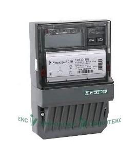 Счетчик электроэнергии трехфазный многотарифный Меркурий 230 ART-01 CLN 60/5 Т4 Щ ЖКИ кл1/2 3х230/4 00В (230ART01CLN)