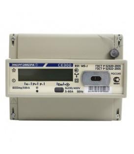 Счетчик электроэнергии трехфазный однотарифный CE 300 R31 Тр/5 Т1 D кл0.5s 230/400В ЖК (CE300 R31 043-J)