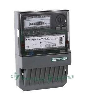 Счетчик электроэнергии трехфазный однотарифный Меркурий 230 AM-02 100/10 Т1 Щ кл1 220/380В ОУ (230AM02)