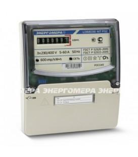 Счетчик электроэнергии трехфазный однотарифный ЦЭ6803В 100/10 Т1 D+Щ кл1 М7 Р32 220/380В ОУ (ЦЭ6803В 1 М7 Р32 10-100А)