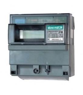 Счетчик электроэнергии однофазный однотарифный Меркурий 201.2 60/5 Т1 D 220В ЖК (201.2)