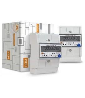 Счетчик электроэнергии однофазный многотарифный (двухтарифный) Нева123 60/5 Т4 D RS485 220В ЖК