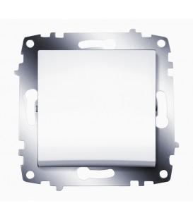 Выключатель одноклавишный ABB Cosmo (Белый)