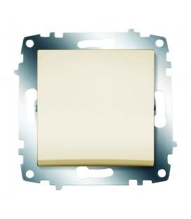 Выключатель одноклавишный ABB Cosmo (Кремовый)