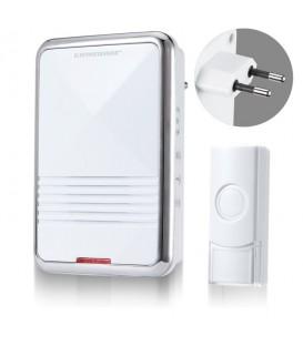 Звонок беспроводной DBQ11M AC 36M IP44 Белый